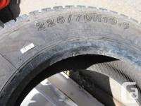 Truck tire 225/70R19 in excellent condition ideal to