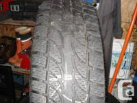 $ Lt 265-75R16 E load Nokien. Call mike