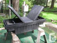 Heavy plastic storage / tool box for smaller truck,