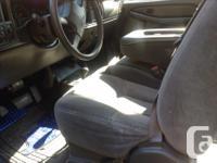 Make Chevrolet Colour Blue Trans Automatic 2003 chev