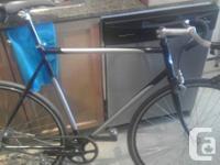 I have a True North Track bike for sale.  Steel frame,