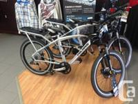 Sale on electrical bikes at Backus racing! These bikes