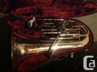 Used, Two tubas for sale, a professional F Yamaha and a for sale  Saskatchewan