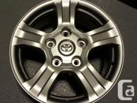 """Outstanding problem, Toyota Expanse Factory 18"""" x 8"""""""