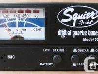 Nearly new, lightly used, very accurate for bass and