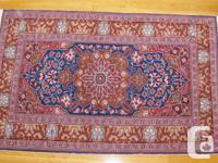 Wool hand woven double knot Turkish rug, personally