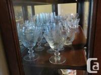DARK WALNUT WITH GLASS PANELS AND MIRROR INSERT KEY