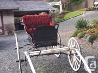 Beautifully restored 'BAYNES' horse-drawn carriage for