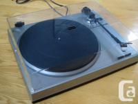 Sanyo TP-X1 belt-drive semi-automatic turntable for