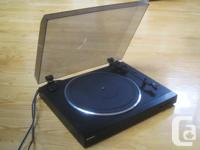 Sony PS-LX150 Auto-return Belt Drive Turntable for