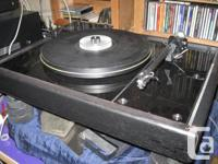 Offered to the discerning turntable enthusiast is this