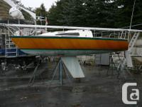 Matilda is a Tuulos 22 Cold Molded sailing boat build