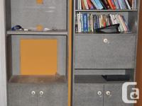 TV & ENTERTAINEMENT SHELVING & BOOKCASE. Granite