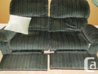 Super comfortable. One 3-seat couch with recliners, one