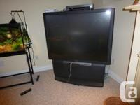 "Sony rear projection big screen 53"" - TV, works"