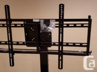 I have a television stand and adjustable frame for