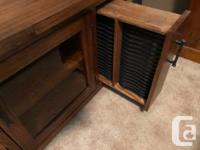 **Solid Wood - Heavy** In Excellent condition - no