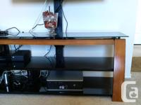 Very beautiful TV table. Two years old. Bought from