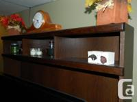 TV Wall Unit. Excellent shape. Paid 650.00 asking