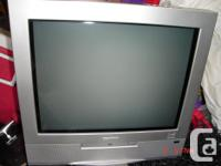 """5 tv's: acdc,Citizen 10"""" color, with remote, $25.."""