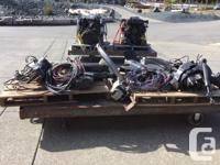 Twin, 1998, 350 MAG, MPI. fresh water cooled,
