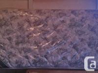 First class twin mattress. Like new $110.00 OBO. (New
