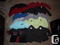 Hi,  I'm selling some of my twin boys clothes. Sizes
