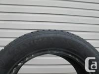 TWO (2) GENERAL ALTIMAX ARCTIC WINTER TIRES SIZES
