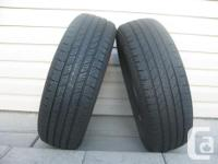 TWO (2) GOODYEAR INTEGRITY TIRES SIZES /185/70/14/ ALL