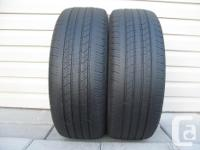 TWO (2) MICHELIN PRIMACY MXV4 TIRES SIZES /205/55/16/