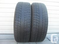 TWO (2) TRIANGLE SNOW LION WINTER TIRES SIZES