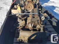 Two 5.4 litre Ford Engines SOHC. One complete and one