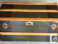 Large Trunk $100 36.5 inches Wide 21 inches Deep 23.5