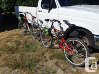 "I have two 18 speed bikes (26"" rims) in decent shape to"