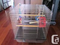 Two birds cages available for love birds or various