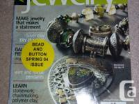 TWO Magazines:. 1. Art Fashion jewelry-- The Color