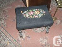 pics 1 & 2 show two small foot stools with a price of
