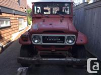 Make Toyota Model Land Cruiser Year 1981 Colour Red