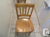 Two Henderson Vintage Chairs for $25 obo Note I have