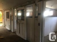 Horse stall doors and barred closures from local
