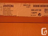 Have two Ikea beech Anton desks, $40 each, quite large