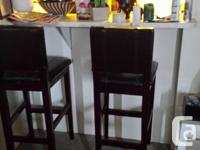 Two Beautiful Bar stools , Which are 100 Percent