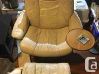 - Used matching leather recliner chairs + two matching
