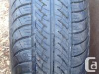 two new uniroyal tiger paw 215 60r 15 tires in lebret