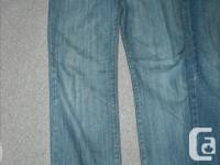 Two Pairs of teen boy's size 18 jeans including 1 pair