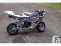 I am offering two pocket bikes for sale. One is a