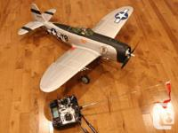 Two R/C Aircraft: 1x Alpha 450 by E-Flight, 450