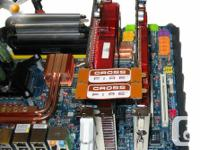 Two Radeon 5850 cards in Crossfire  1.  Asus 5850