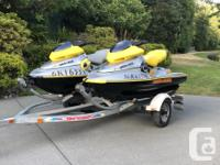 2002 , 2001 Sea doo XP limited. . Bought brand new ,