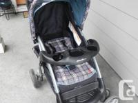 Eddie Bauer Stroller is in a good condition. It is